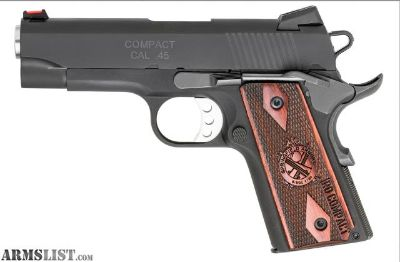 """For Sale: SPRINGFIELD 1911 RANGE OFFICER COMPACT 4"""" 45ACP"""