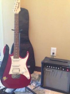 Complete guitar system. Ibanez.