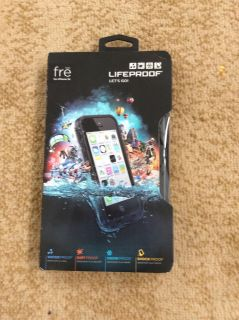 New Lifeproof Waterproof Clear Case for 5s, 5c and SE models asking $20