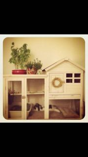 Looking for a rabbit hutch similar to these....