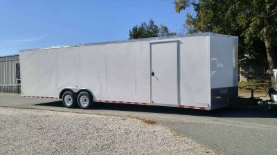 2018 Other New 8.5x28 VNose Enclosed Trailer