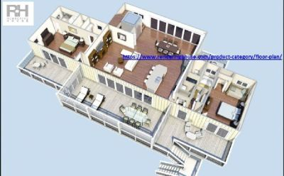 Find 3D Floorplans Design For Homes