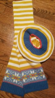 Girls Mini Boden Winter Hat and Scarf