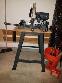 Chop Saw on stand
