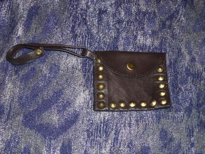 lucky brand leather coin purse