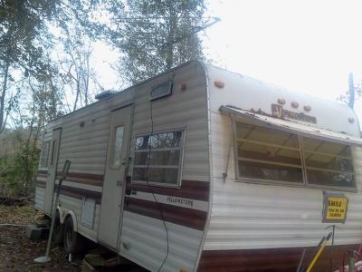 older travel trailer