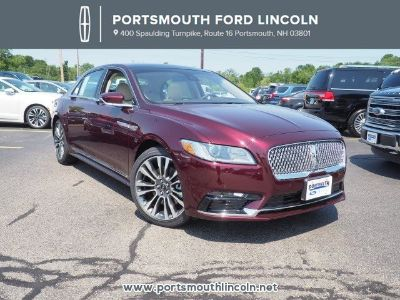 2018 Lincoln Continental Reserve (Burgundy Velvet Metallic Tinted Clearcoa)
