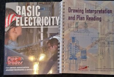 Basic Electricity n Drawing & planning learning books