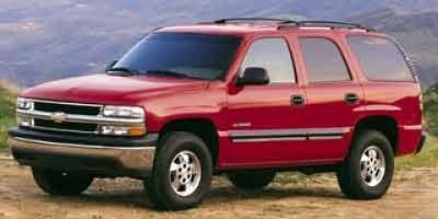 2001 Chevrolet Tahoe Base (Med Charcoal Gray Met)