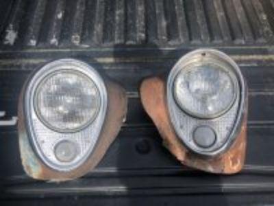 54 Buick Headlights