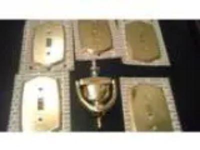 solid brass door knocker (midtowna)