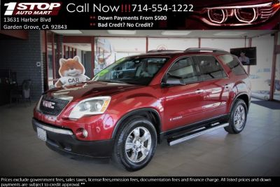 2008 GMC Acadia SLE-1 (Red Jewel Tintcoat)