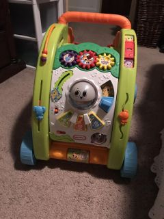 Walker (or sit and play) for baby! Lights up!