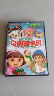 Nickelodeon Merry Christmas DVD. See next pic for the 6 movies on this disc