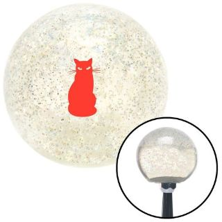 Sell Red Cat Clear Metal Flake Shift Knob with M16 x 1.5 Insertpremium performance motorcycle in Portland, Oregon, United States, for US $29.97