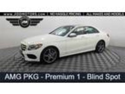 Used 2016 Mercedes-Benz C-Class White, 56.3K miles