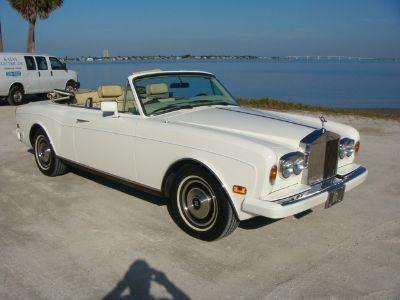 1985 Rolls Royce Corniche 30K MILES 1 OWNER UNMOLESTED