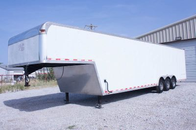2011 40' Vintage Outlaw Enclosed Trailer