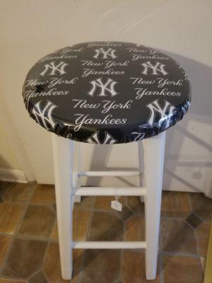 New York Yankees custom bar stool