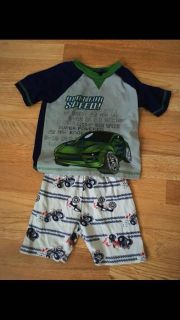 Boys Summer pj Outfit Size 3t