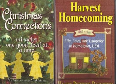 """$9.95 Buy """"Harvest Homecoming"""" and Get """"Christmas Connections"""" FREE"""