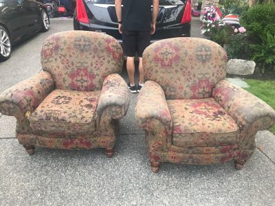 ****Two chairs well used FREE*****