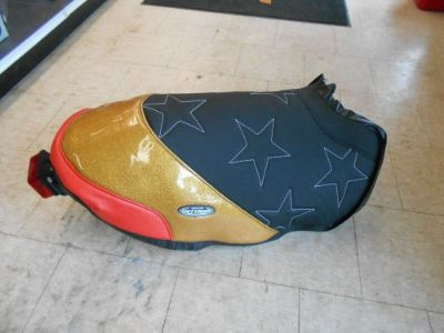 Buy 2005-2016 Polaris IQR 600 Race Sled Seat Cover Custom Made By JETRIM Black/Gold motorcycle in North Adams, Massachusetts, United States, for US $229.95