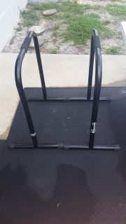 Lebert Equalizer black XL Bars dips, push ups, hand stands, circuit training etc $100 firm