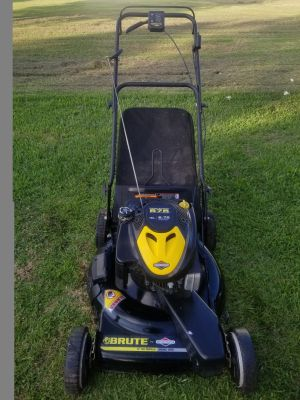 "Brute 22"" self propelled lawn mower"