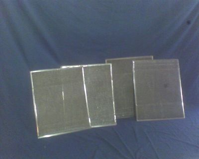 16 x 19 aluminum mesh air filters