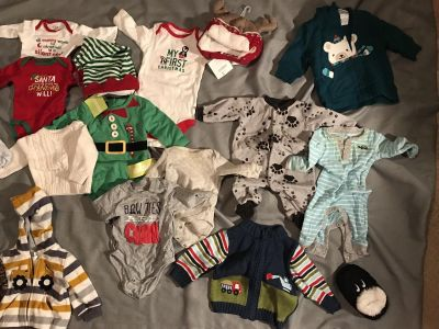 Baby boy clothes lot!!