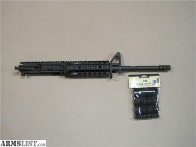 For Sale: 1/9 CL M4 M-4 AR-15 AR15 Upper 5.56 UTG NO CC FEE Quad Rail Quadrail .223 1X9 1:9 Top End Barrel