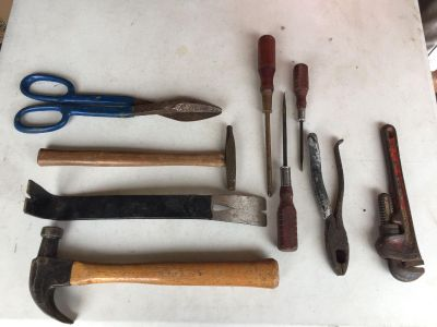 LOT OF SHOP TOOLS all for $8