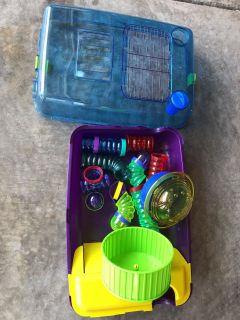 Hampster/gerbil play space