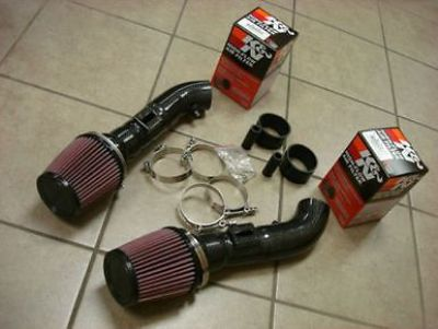Purchase Top Speed Dual Carbon Fiber Air Intake Systems + K&N Filters FX35 FX37 SUV 09-13 motorcycle in Addison, Texas, United States, for US $379.99