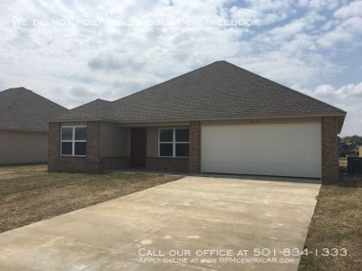 3717 Churchill Dr., Jonesboro AR 72404 - Bridlewood Estates new construction 3br 2ba