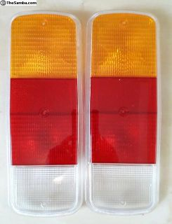 bus 72-79 tail light tailight lenses