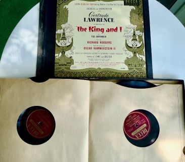 The King and I: Broadway Original Cast- 1951- 6 Disc Box Set