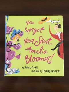 Brand new You Forgot Your Skirt Amelia Bloomer