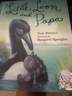 Little loon and papa book