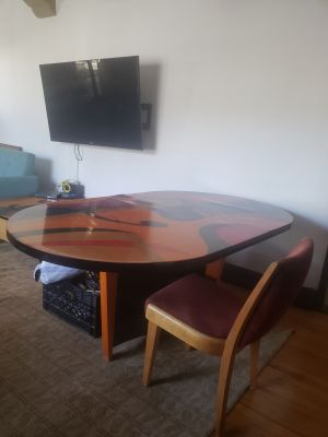 3 Piece High End Contemporary Modern Tables