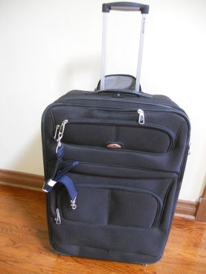 28 inch tall Samsonite Suitcase - used once