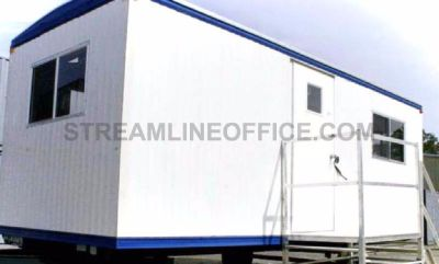Mobile commercial offices construction site trailers for lease and sale