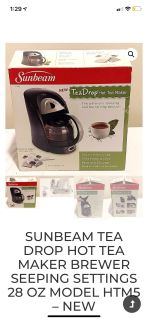 Sunbeam tea drop