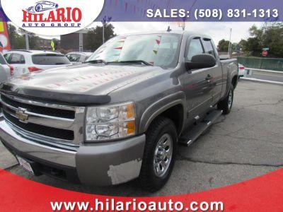 2007 Chevrolet Silverado 1500 Work Truck (Gray)