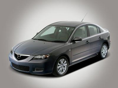 2008 Mazda Mazda3 i Sport (Sunlight Silver Metallic)