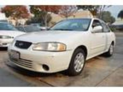 2000 Nissan Sentra GXE White, CD, Power Windows Locks, 124k Low Miles