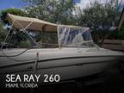 Sea Ray - 260 Signature
