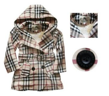 BURBERRY KIDS COAT NEW with tags 100 obo