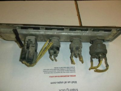 Buy 705 Freightliner FLd switch panel Engine start override/chk motorcycle in Batesville, Arkansas, US, for US $1.00